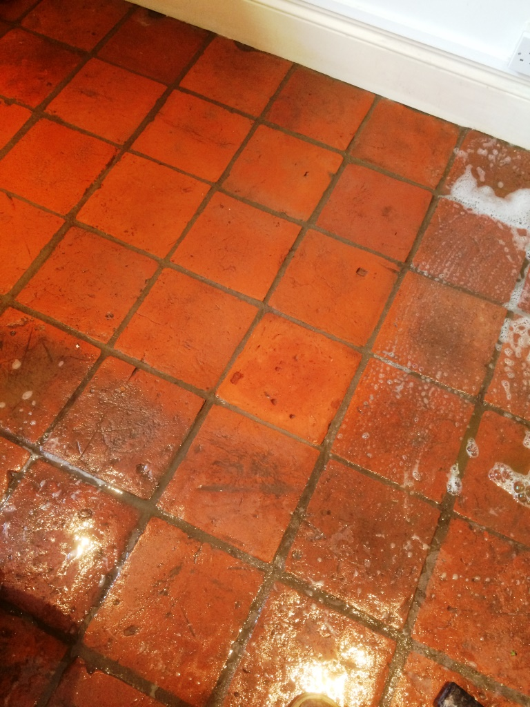 Cleaning Pamment Tiles
